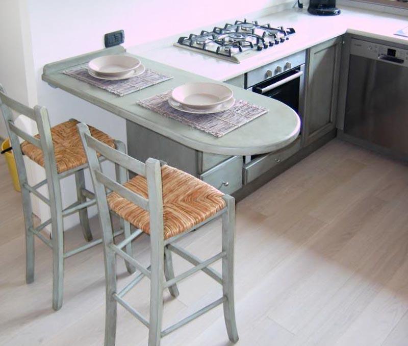 Pin vostra cucina in muratura realizzata con piastrelle for Piastrelle cucina color tortora