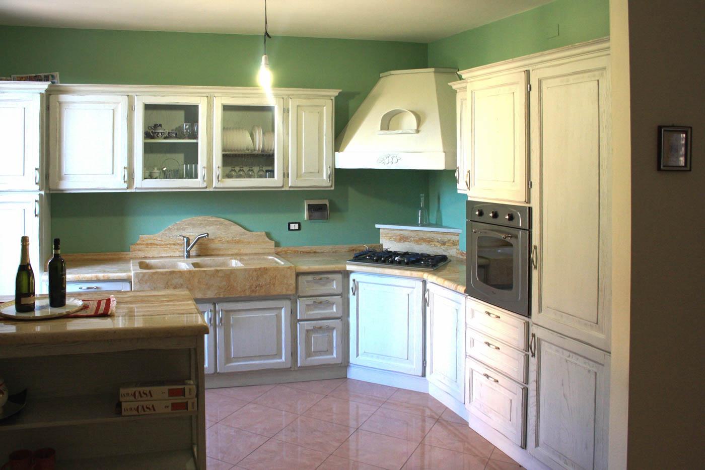 Cucine Con Piano Cottura Ad Angolo. Perfect Cucina Con Lavandino ...