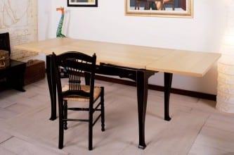 Art. CHIANTI 130x80 allungato - g. 6 piano in rovere sbiancato
